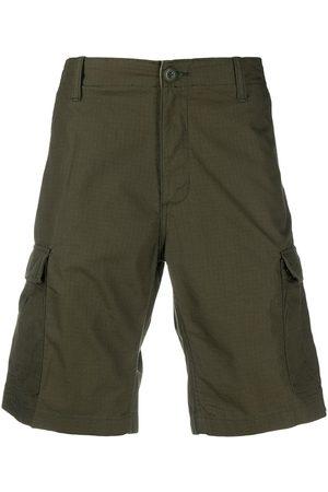 Carhartt WIP Man Bermudashorts - Shorts med logotypmärke i sidan