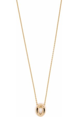 Le Gramme Halsband - 18kt yellow gold 3g entrelacs pendant and chain necklace