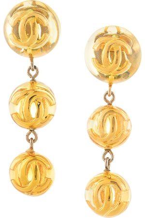 Chanel Pre-Owned Kvinna Örhängen - Clipsörhängen med logotyp