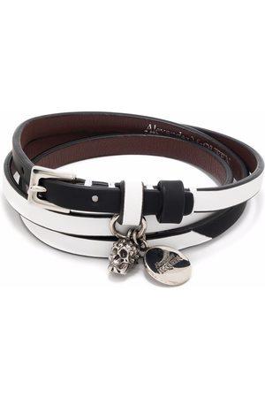 Alexander McQueen Man Armband - Armband med dödskalle