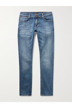 Nudie Jeans Man Skinny - Tight Terry Skinny-Fit Organic Stretch-Denim Jeans