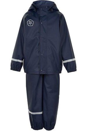 Color Kids Regnkläder m. Hängslen - PU - Dress Blues