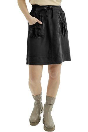 Cream Kvinna Midikjolar - [Nanna Skirt