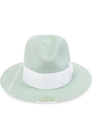 NICK FOUQUET Man Hattar - Eucalyptus hat with bow