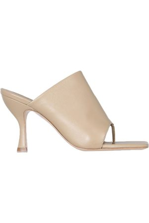 GIA Leather Mules With Heel