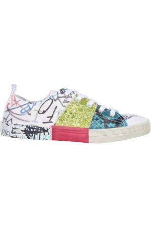 Maison Margiela Kvinna Sneakers - Patchwork Sneakers