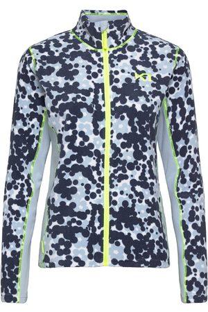 Kari Traa Kvinna Fleecejackor - Bruse Fleece Outerwear Sport Jackets Blå