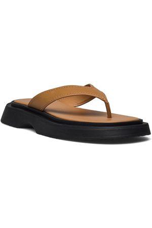 MANGO Kvinna Sandaler - Tati Shoes Summer Shoes Flat Sandals Svart