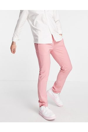 Twisted Tailor – kostymbyxor med skinny passform-Pink