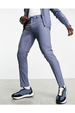 ASOS – Jeansblå finbyxor, del av set