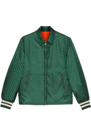 Gucci Reversible GG nylon jacquard jacket