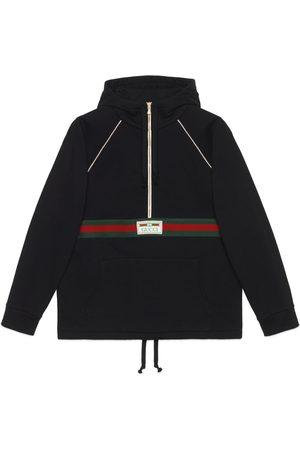 Gucci Cotton jersey sweatshirt with Web