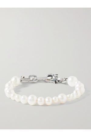 M. COHEN Man Armband - Sterling Pearl Bracelet