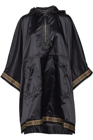 Ilse Jacobsen Kvinna Regnjackor - Rain Poncho Outerwear Rainwear Rain Coats