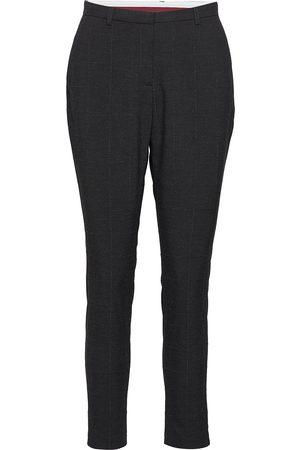 Karen by Simonsen Sydney Checked Fashion Pant Byxa Med Raka Ben