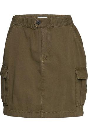 Tommy Hilfiger Short Cargo Skirt Ol Kort Kjol