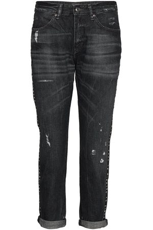 Scotch & Soda Bandit - Salt And Pepper Black Raka Jeans Blå
