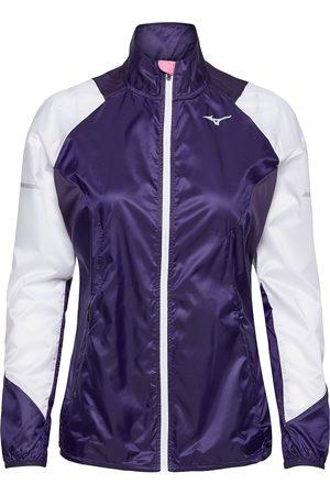 Mizuno Aero Windtop Outerwear Sport Jackets Lila