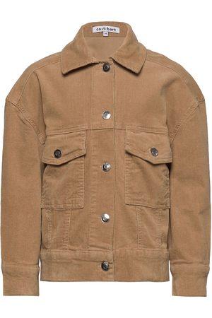 CostBart Barn Jeansjackor - Ilvina Jacket Outerwear Jackets & Coats Denim & Corduroy Brun