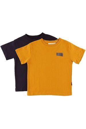 Molo T-shirt - Rasmus - 2-pack - Honey Navy