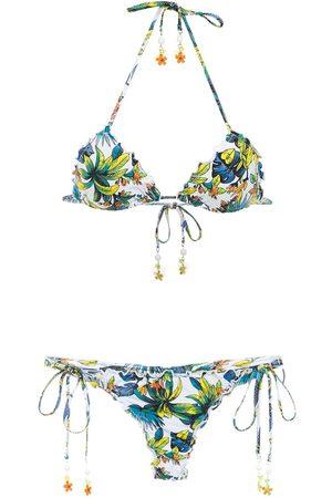 AMIR SLAMA Kvinna Bikinis - Mönstrad bikini