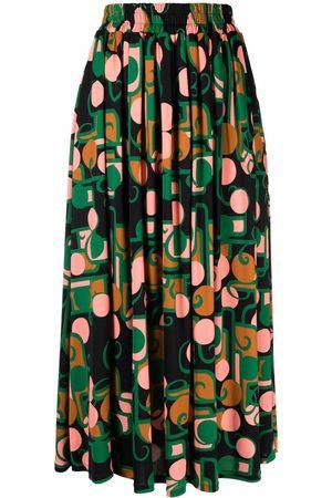La DoubleJ Kvinna Mönstrade kjolar - Kjol med grafiskt tryck