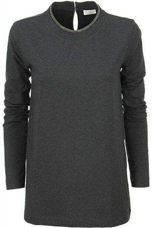 Brunello Cucinelli Jersey T-shirt with monile