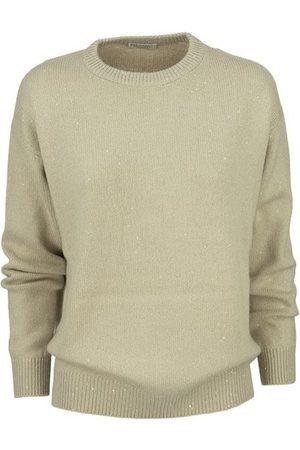 Brunello Cucinelli Diamante cashmere and silk crew-neck sweater