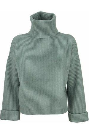Brunello Cucinelli Cashmere turtleneck sweater with monile