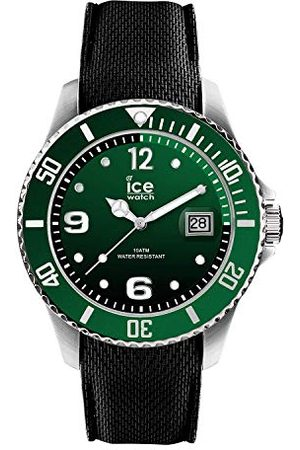 Ice-Watch ICE steel Green – herrklocka med silikonarmband – 015769 (medium)