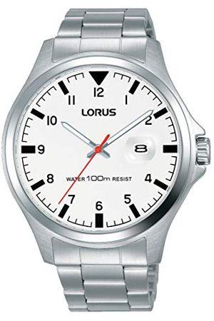 Lorus Man Klockor - Analog kvartsklocka för män med rostfritt stålrem RH965KX9