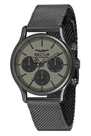Sector No Limits Män analog kvartsur med rostfritt stål armband R3253517014