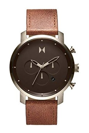 MVMT Man Armband - Herr analog kvartsklocka med kalvläder av läderarmband 28000070-D