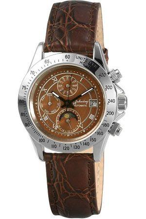 Stolzenberg Automatisk klocka för män ST2700290007 med läderrem