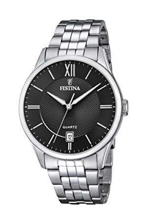 Festina Herr analog kvartsklocka med rostfritt stål armband F20425/3