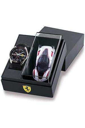 Scuderia Ferrari Herr analog kvartsklocka med silikonrem 0870045