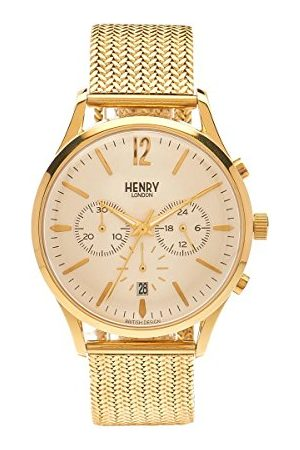 Henry Unisex armbandsur Westminster Chronograph kvarts rostfritt stål HL41-CM-0020