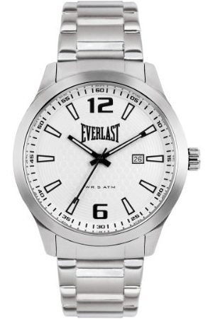 Everlast Herr analog kvartsklocka med rostfritt stål armband EVER33-221-004