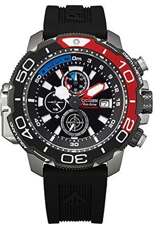 Citizen Herr kronograph eko-drive-armbandsur Promaster Marine bälte One Size