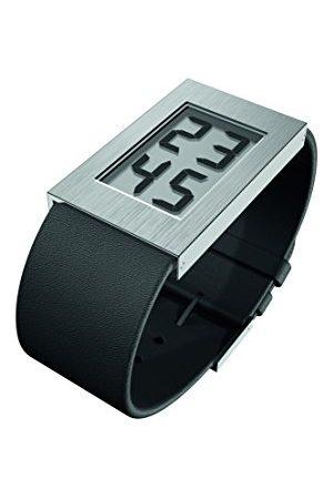Rosendahl Digital kvartsklocka för män med läderrem 43280