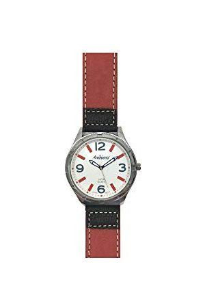 ARABIANS Analog kvartsklocka för män med läderrem HBP2210Y