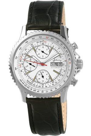 Stolzenberg Automatisk klocka för män ST2200290008 med läderrem