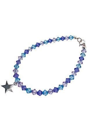 Chic A Boo Barn sterling stjärna och Swarovski-kristall 6 tum armband