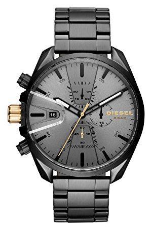 Diesel Mäns kronograf kvarts klocka med rostfritt stål armband DZ4474