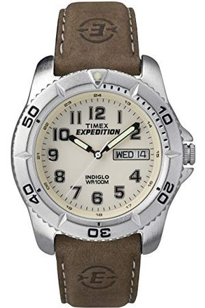 Timex Man Armband - Armband för män analog läder T46681D7