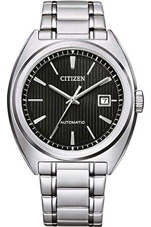 Citizen Herrar analog automatisk klocka med rostfritt stål armband NJ0100-71E