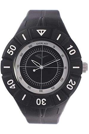 Everlast Unisex vuxna analog kvartsklocka med PU-armband EVER33–226–004