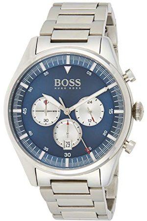 HUGO BOSS Herr Chronograph kvartsklocka med rostfritt stål armband 1513713