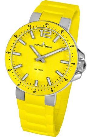 JACQUES LEMANS Unisex-armbandsur Milano analog silikon 1-1709E