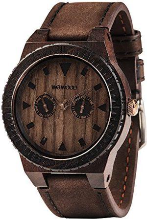 WeWood Herr analog kvarts smartklocka armbandsur med läderarmband WW37005